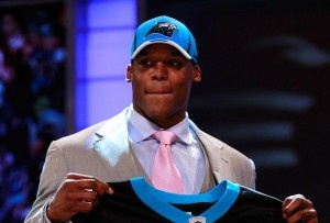 Number 1 pick Cam Newton