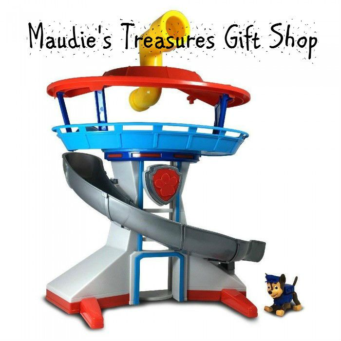 Paw Patrol Lookout Tower Kids Toy Gift Set #kids #toys $30.00 sale now use Fathersdaysale20 Sale ends 6 - 19 - 2017