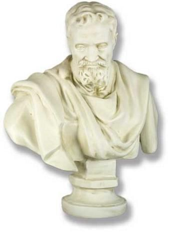 Michelangelo Bust - Buy a Replica Michelangelo Bust from Museum Store Company