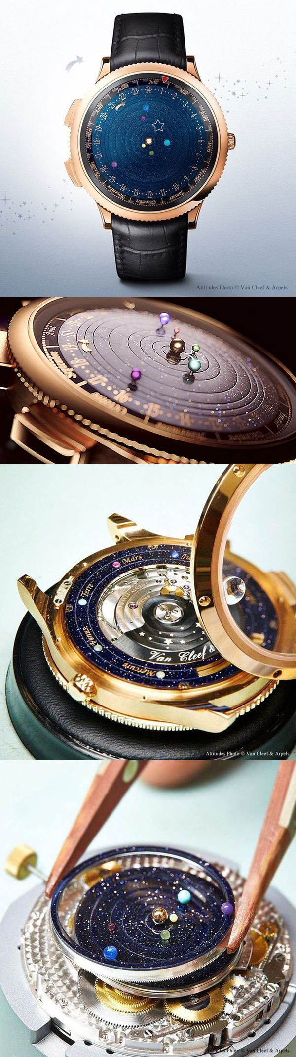 I can't live without this!!!Midnight Planétarium|planets / star / Milky Way / the Galaxy / watch