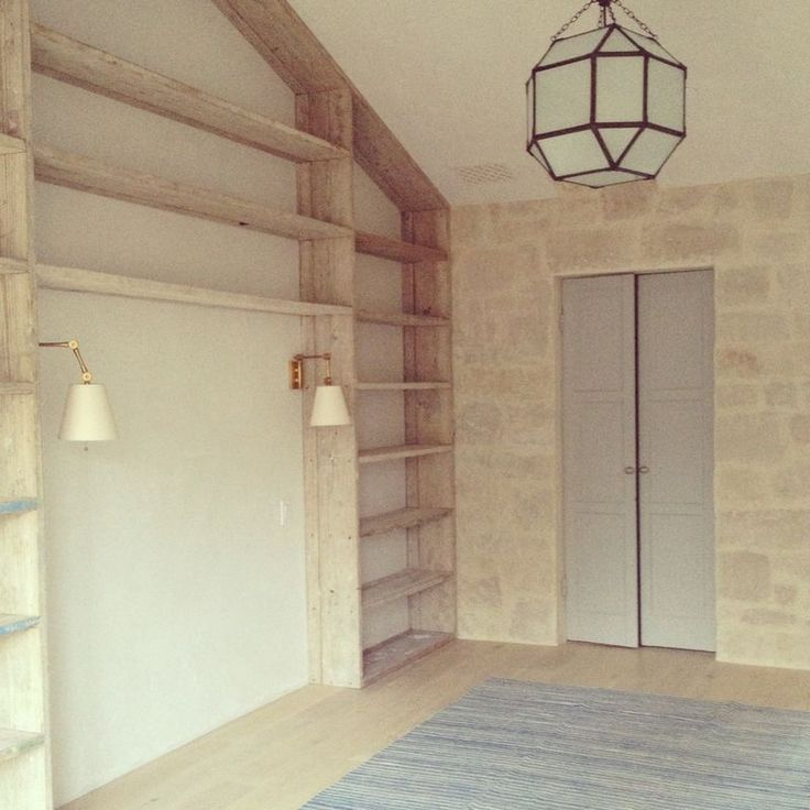 Built In Bookcases Surrounding Bed From Giannetti Home At