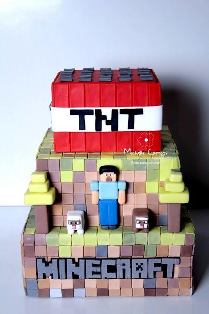 Michelle Campos Art & Biscuit: Minecraft