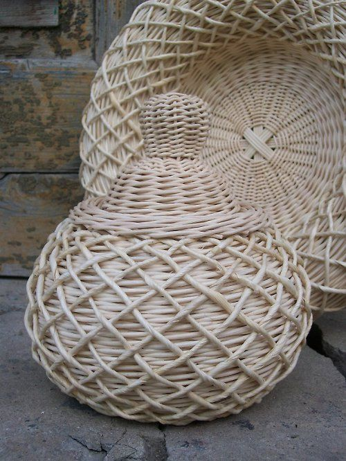 Pinterest Newspaper Baskets