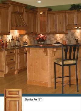 Santa Fe Doorstyle Kitchen by Kitchen Cabinet Kings| Buy Kitchen Cabinets Online and Save Big with Wholesale Pricing!