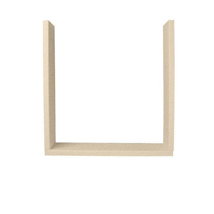 Swan Easy Up Adhesive Solid Surface Window Trim Kit in Bermuda Sand