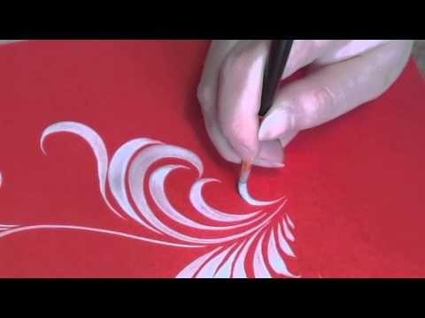 ▶ Травка (travka) с субтитрами на английском и русском, irishkalia - YouTube Gorodetskaya painting. Master Class - YouTube