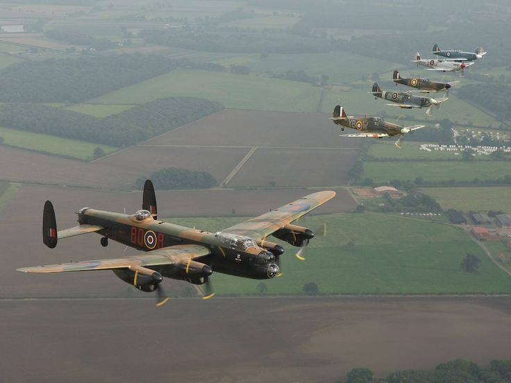 The Battle of Britain Memorial Flight.  Based at RAF Coningsby. Just 5 miles away. A fantastic sight and sound!!