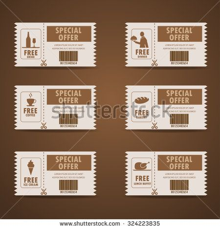 Food Coupon Stock Photos, Images, & Pictures | Shutterstock