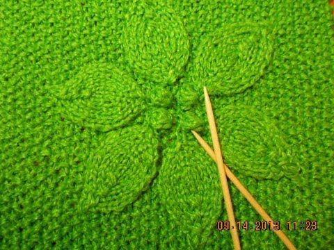 Fantástico saco con capucha tejido con dos agujas - paso a paso | Patrones para Crochet