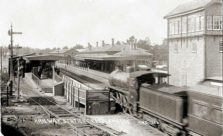 Castlemaine rail station