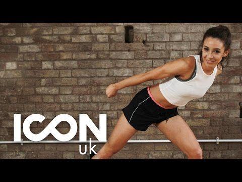 Work Out: Cardio Dance to Burn Fat I Danielle Peazer - YouTube