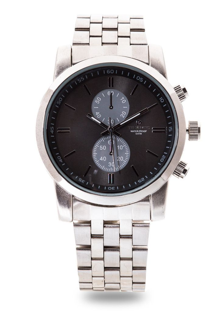 It's never a miss in style with this Analog Watch 0001C-10/A from Timento. This timepiece guarantees to keep you up with your everyday schedule while still maintaining you value for that dapper look. Made from sleek metal material, it's all the accessory you need for functional fashion.  http://www.zocko.com/z/JJyNz