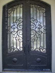 Elite Iron Works Art  Custom Wrought Iron Gates Entry Doors . & 30 best House Plans - Exterior images on Pinterest | Exterior homes ...