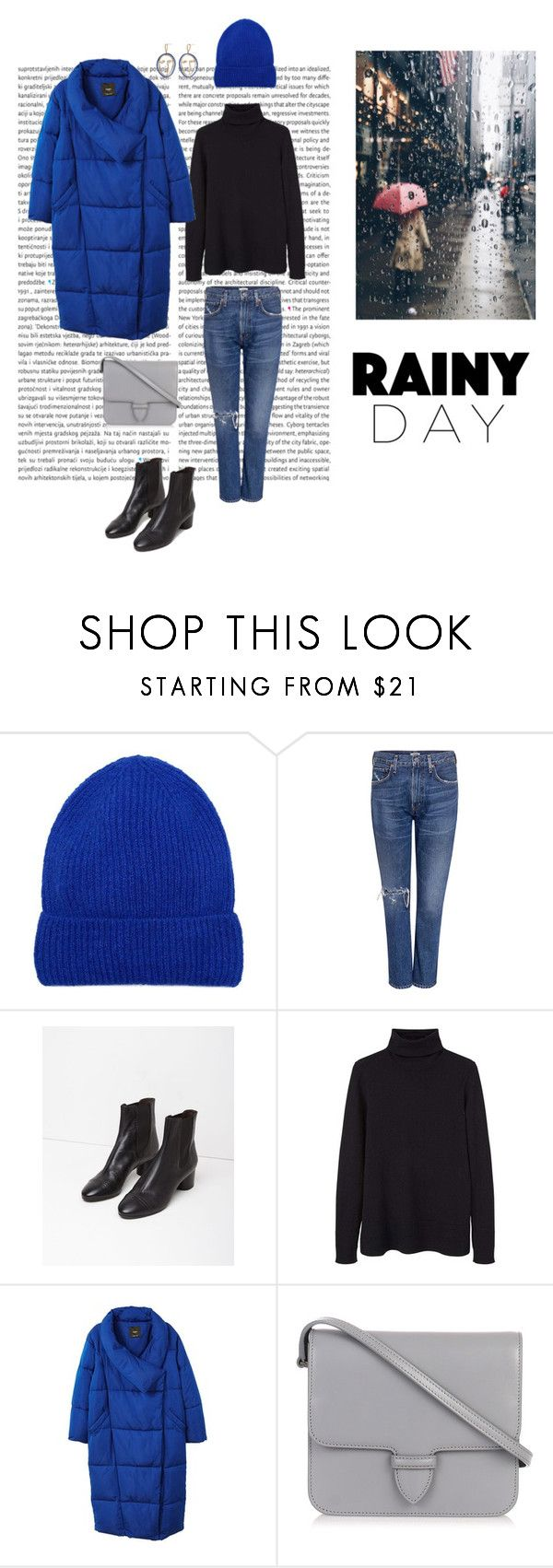 """""""21/11"""" by dorey on Polyvore featuring MANGO, Citizens of Humanity, Isabel Marant and Alaïa"""