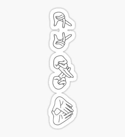 EXO illustration Sticker