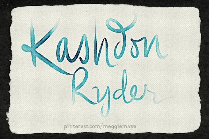 Baby boy's name (I assume) Kashdon Ryder. Requested by Manda.