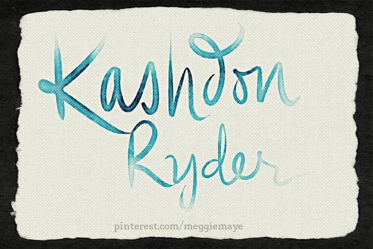 Baby boy's name (I assume) Kashdon Ryder. Requested by Manda.