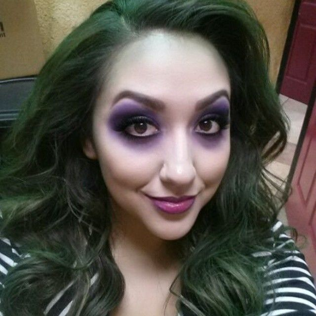 Halloween Beetlejuice Makeup by Annie
