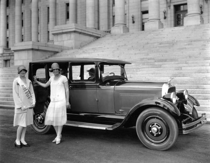Land vehicles black and white dresses