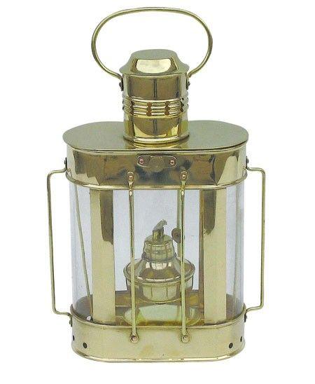 Scheepslamp olie  - H: 27 cm