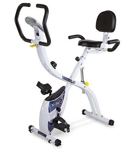 Bicicleta multiposición 3 en 1: Elige entre los 3 modos: vertical, reclinada o más reclinada y disfruta de un entrenamiento cómodo e intenso  Sistema de freno magnético: Sin mantenimiento. Pedaleo suave y silencioso con diferentes tensiones  Medición de pulso por contacto en el manillar  Res... http://gimnasioynutricion.com/tienda/bicicletas/estatica/bicicleta-estatica-plegable-x-tri2-3-posiciones-entrenamiento-tecnovita-by-bh-yf910/