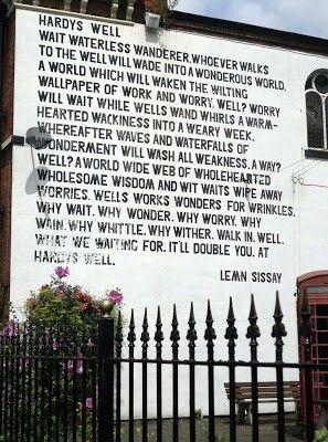 Lemn Sissay landmark poetry in Manchester
