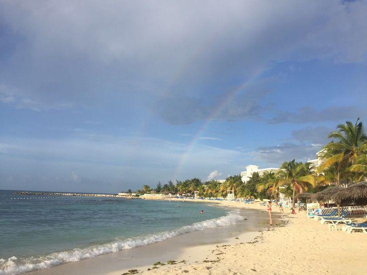 Doble Arcoiris. Hotel Grand Bahía Principe Jamaica.