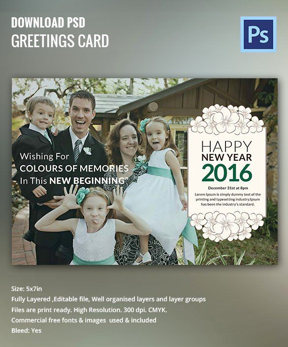 New Year Card Template Elegant 28 New Year Invitation Templates Free Word Pdf Psd In 2020 Invitation Template New Year Card Party Invite Template