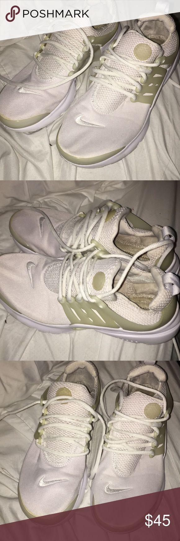 Nike presto Nike presto white 7 youth Nike Shoes Sneakers