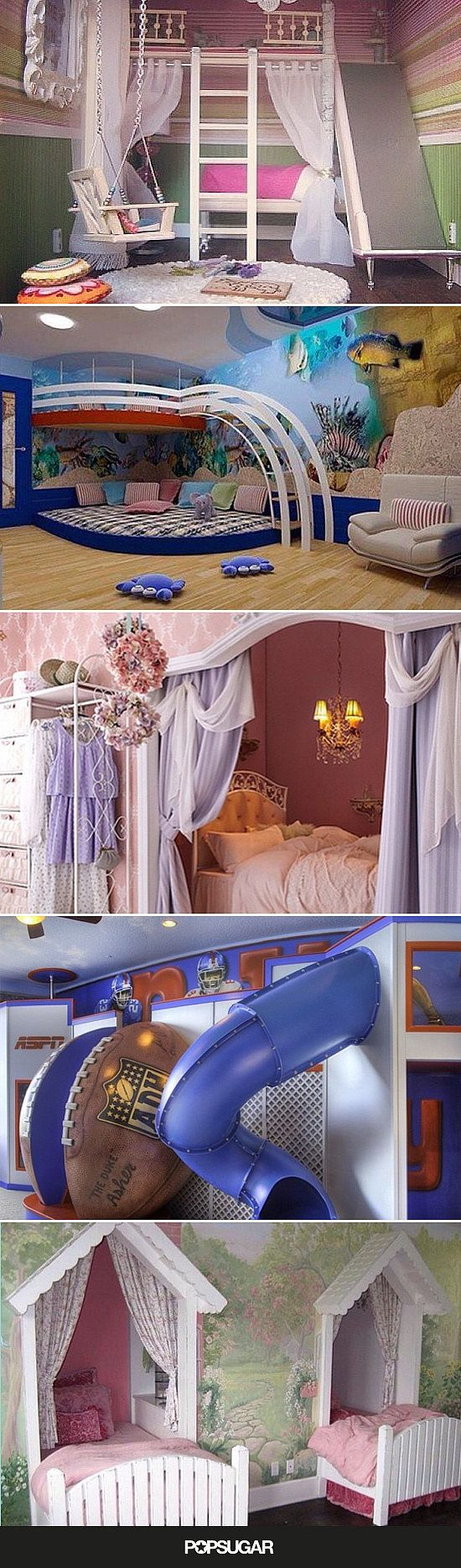 These 17 Crazy Kids' Rooms Will Make You Want to Redecorate Immediately