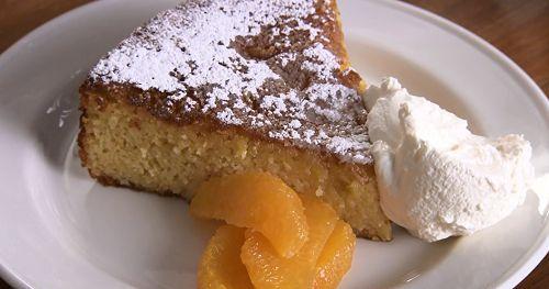 Rick Stein clementine with almond cake recipe