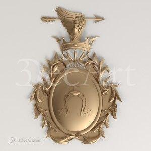 Gb_002 | 3d model family crest