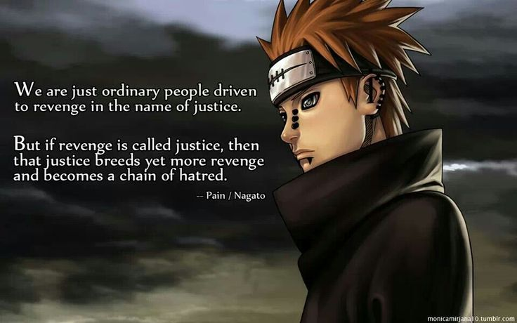 pain quotes naruto Google zoeken anime quotes
