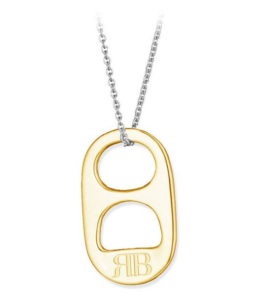 Win a 14kt solid yellow gold soda tab necklace - from @SodaTabs.com #FashionistaEvents