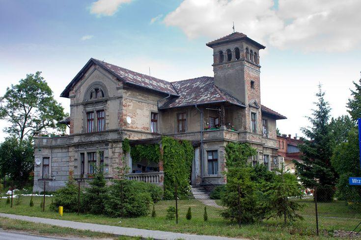 Miłosław - willa dawnego właściciela browaru