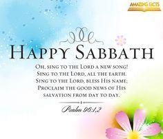 #HappySabbath   Psalms 96:1-2        http://www.sdahymnal.net/