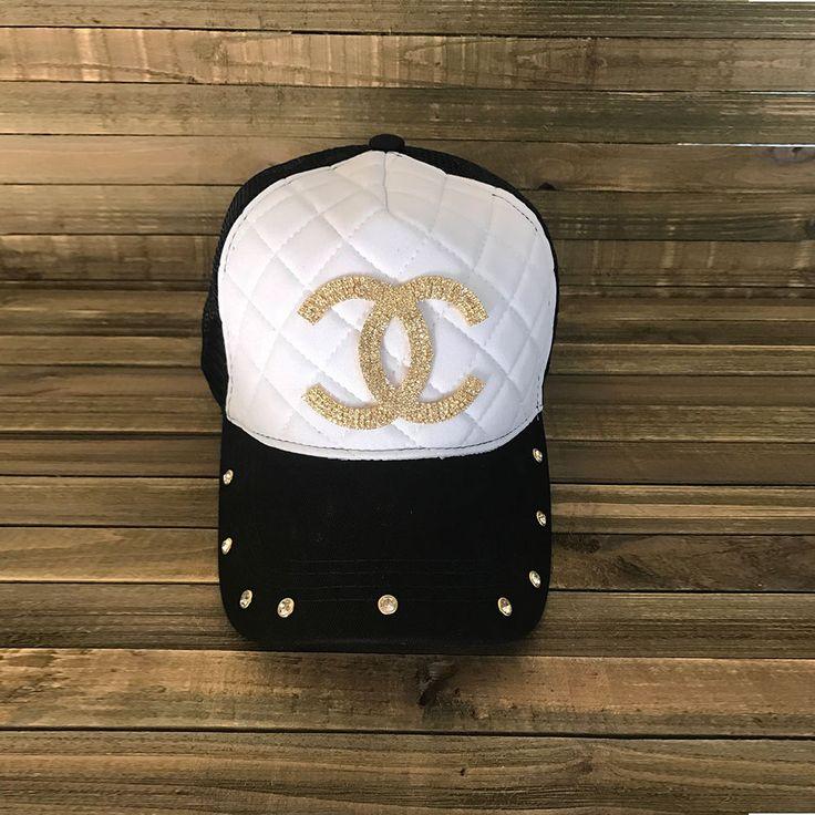 Black Trucker Hat, Trucker Caps, Rhinetone Hats, Rhinestone Caps,Trucker Hats, R #Unbranded #Trucker