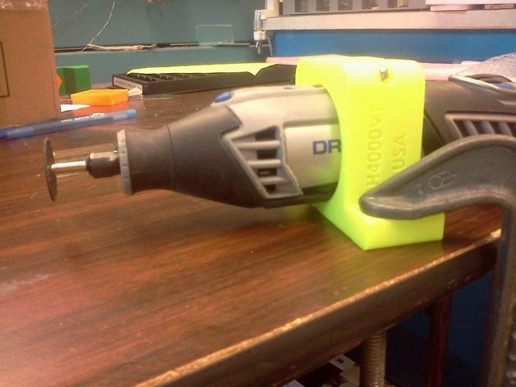 Dremel 4000 Holder, vise or table top, non-US and Quantity buyers PN# DH-4000VT #MadebyMitchell
