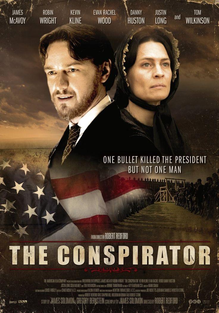 The Conspirator, sterk staaltje acteerwerk en een aangrijpend en niet zo mooi stukje uit de Amerikaanse geschiedenis om heel stilletjes van te worden...