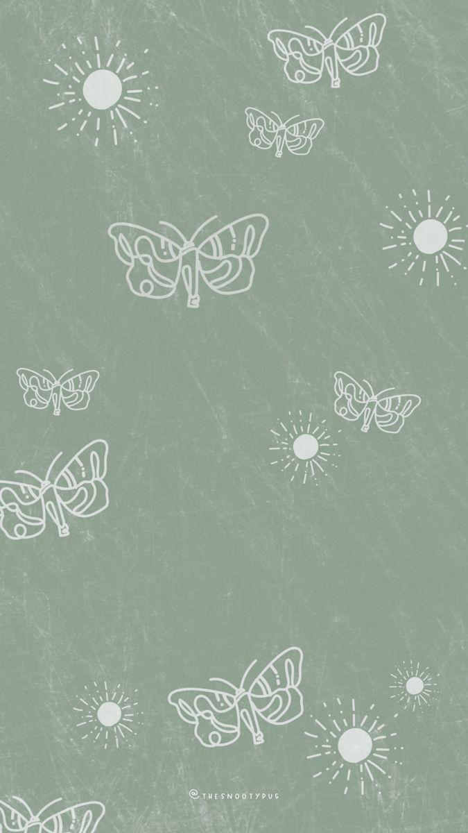 Sage Green Trendy Wallpaper In 2021 Iphone Background Wallpaper Phone Wallpaper Images Aesthetic Iphone Wallpaper