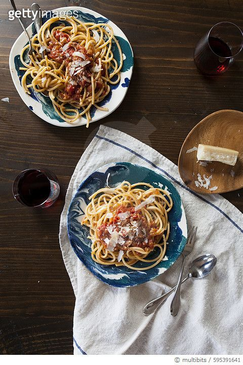 Spaghetti with marinara - gettyimageskorea