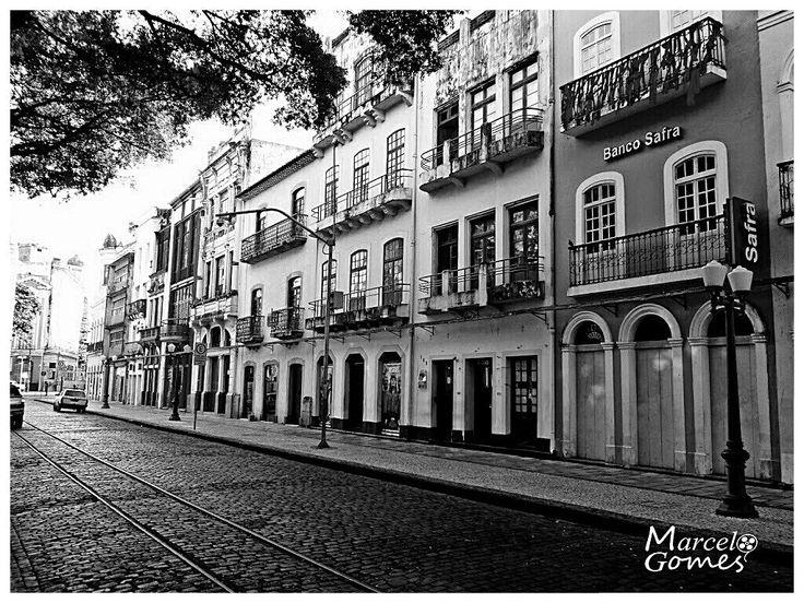 Marco zero da Cidade do Recife  (Rua do Bom Jesus) Pernambuco / Brasil