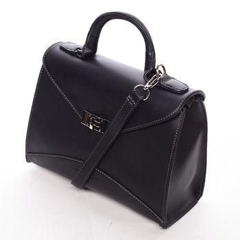 #DavidJones  Luxusní a jemná černá kabelka do ruky David Jones je jednou z nejhezčích kabelek na našem e-shopu. Kabelka je správnou volbou jak do města do ruky, tak i do společnosti, třeba přes rameno. Menší kabelka se zapíná elegantním knoflíčkem, hlavní kapsa je na zip a vnitřní část poskytuje další dvě větší kapsy, z nichž je jedna na zip. Má nastavitelný popruh. Luxus.. to je Wakus!