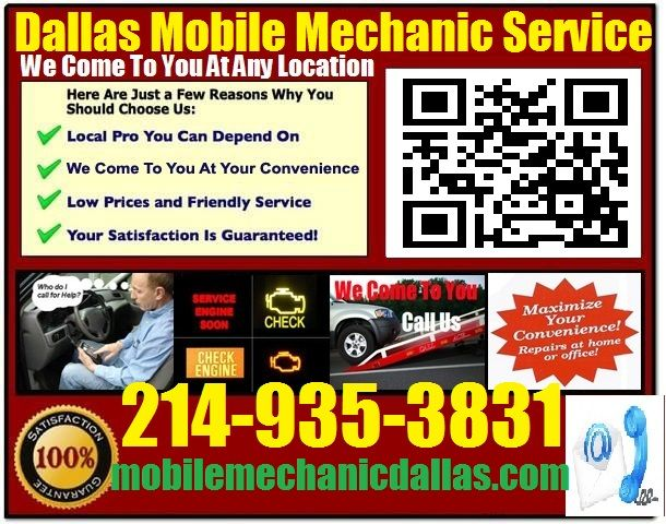 Mobile Mechanic Fate TX auto car repair service shop review that comes to you call 214-935-3831 or visit us at http://mobilemechanicdallas.com/auto-repair-car-service-fate-texas-shop-on-wheels/