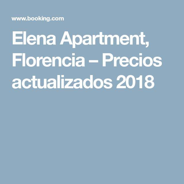 Elena Apartment, Florencia – Precios actualizados 2018