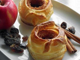 Tanulj meg (kenyeret) sütni!: Leveles tészta köntösben sült alma, fűszeres mandulával töltve #alma, #maxgastro, #bake, #cake, #apple