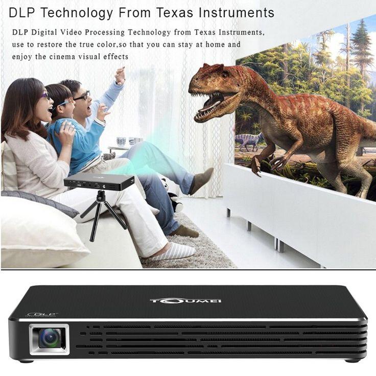 eu TOUMEI C800S DLP Projector Smart Android Projector Throw 2000:1 - Tomtop.com
