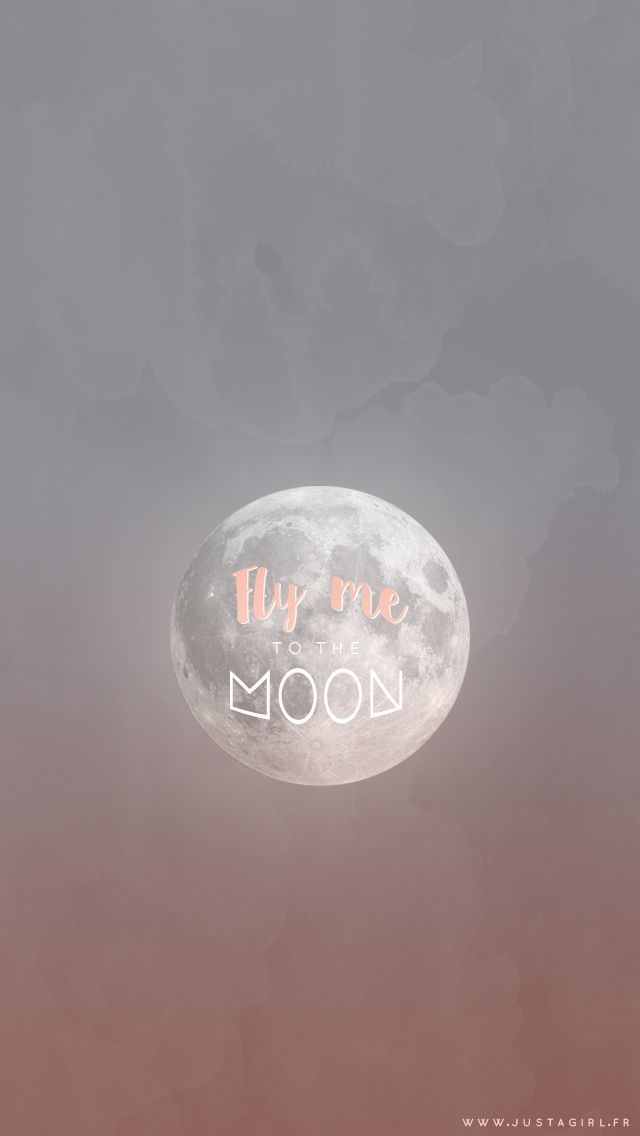 Fly me to the Moon... (Fond d'écran) - justagirl
