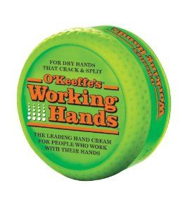 O'Keefe's working hands cream - this stuff really fixes my ecxzema!
