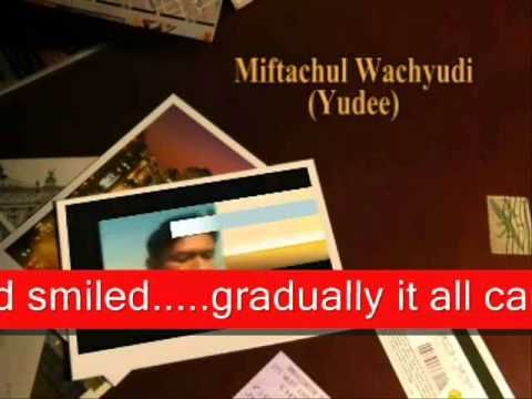 YOU'RE EXACTLY WHAT I WAS LOOKING FOR -MIFTACHUL WACHYUDI(YUDEE)